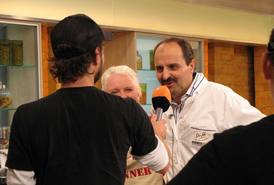 Johann Lafer mit Waltraud Witteler im Interview